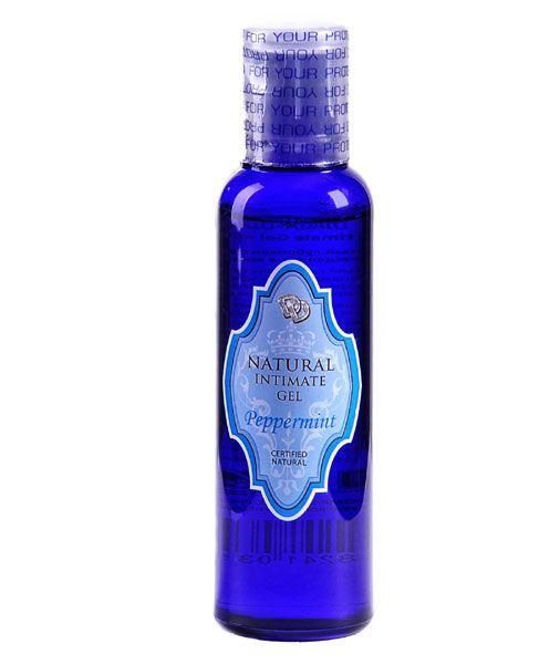 Лубрикант на водной основе Peppermint Natural Intimate Gel - 100 мл. от Natural touch