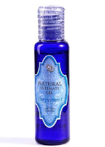 Лубрикант на водной основе Peppermint Natural Intimate Gel - 50 мл. от Natural touch